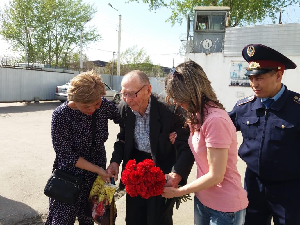 Верховный суд РК освободил 93-летнего ветерана ВОВ из тюрьмы