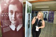 Выставка посвященная Анне Франк открылась в библиотеке им. Л. Толстого в Костанае
