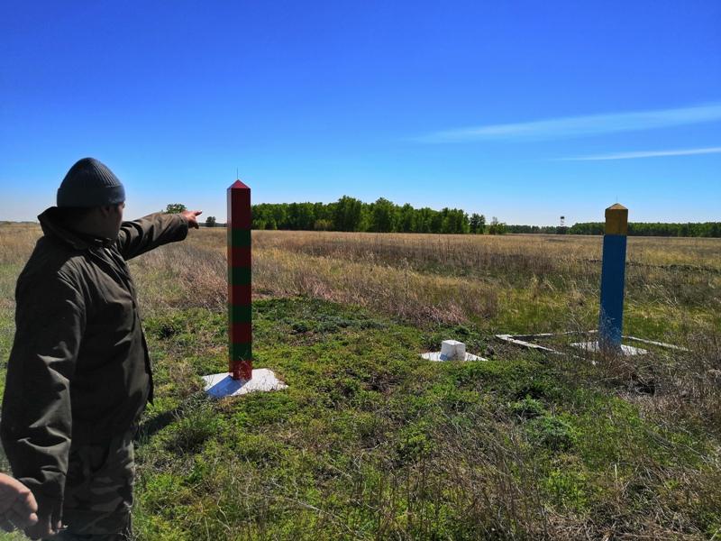 Омские пограничники задержали нарушителя границы