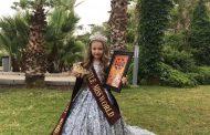 7-летняя девочка из Костаная удостоилась титула Little Miss World на конкурсе красоты в Турции
