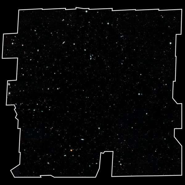 NASA показало самый детальный снимок Вселенной, на нём видны 265 тысяч галактик