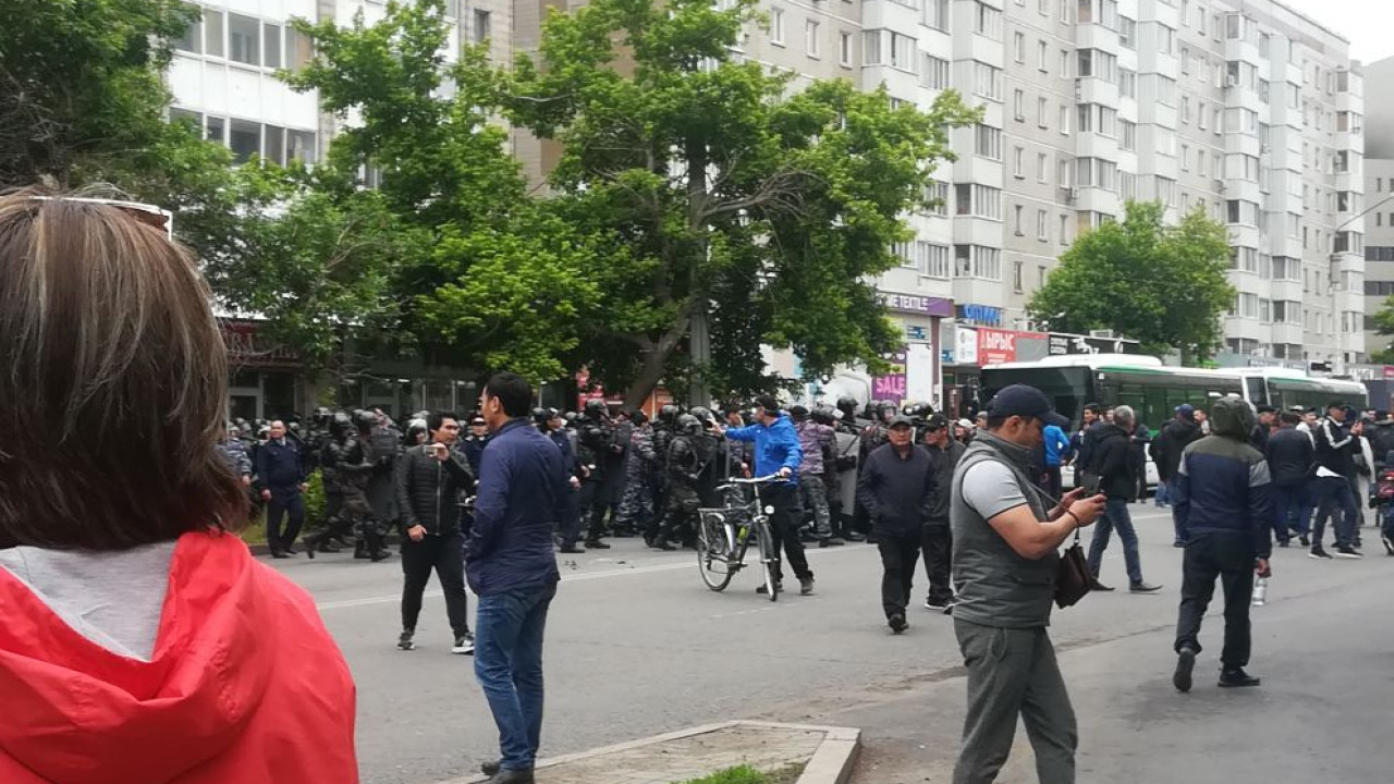 Сведения о пострадавших от действий полицейских в ходе митингов не действительны — МВД
