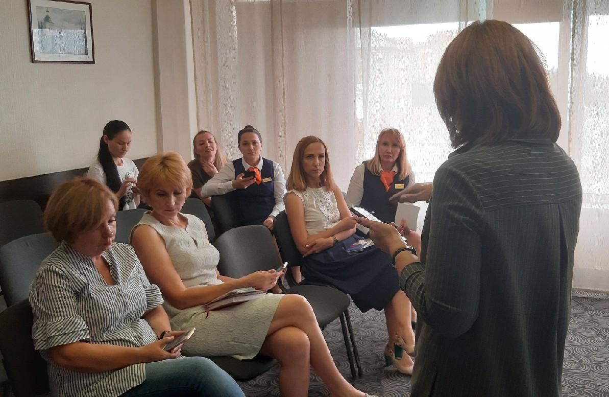 Сотрудники омских гостиниц проходят обучение перед XVI Форумом межрегионального сотрудничества России и Казахстана