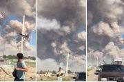 После взрыва в Казахстане потерялись дети