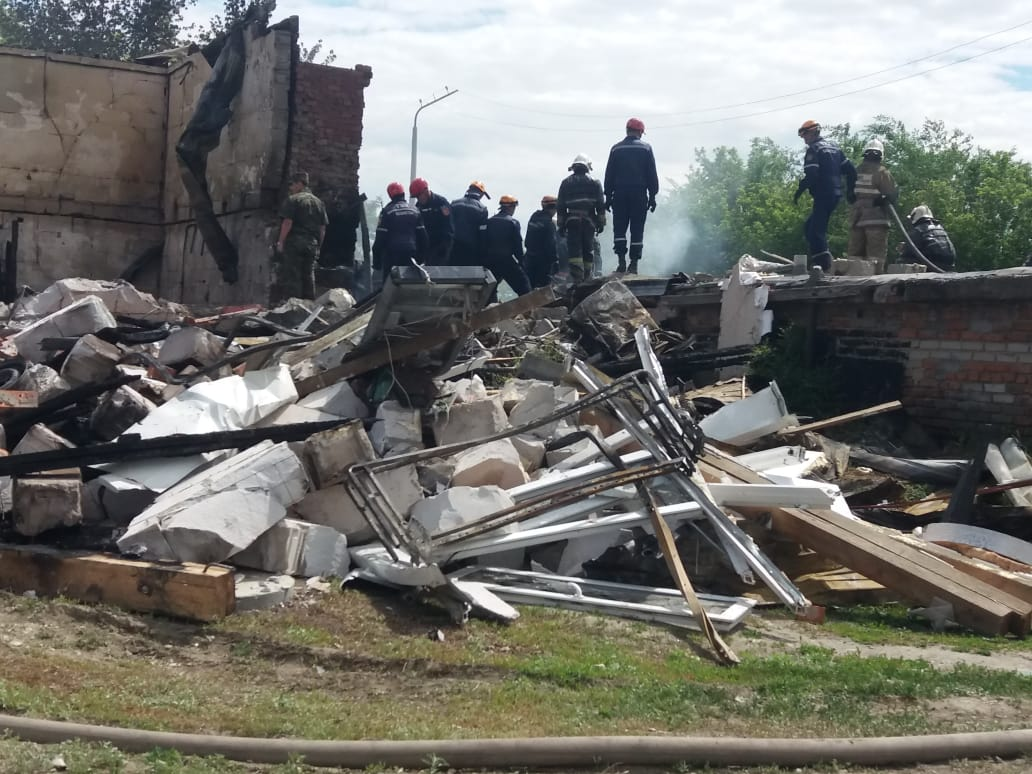 «Таких происшествий не было более 10 лет» — УЧС г. Костаная о взрыве на СТО