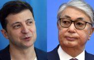 Зеленский пригласил Токаева на Украину