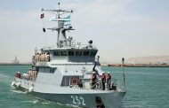 Военный корабль Казахстана прибыл в Баку