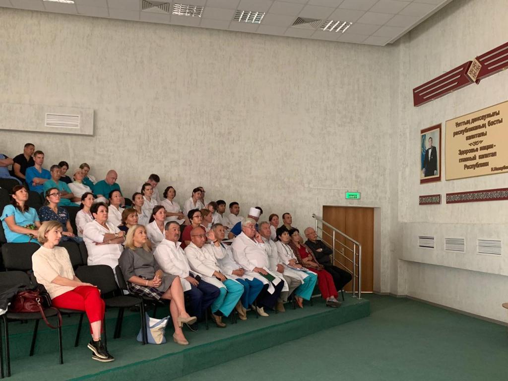 Челябинские и костанайские врачи расширяют сотрудничество