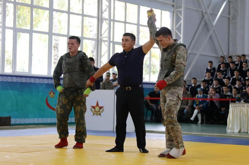 Чемпионат СНГ по армейскому рукопашному бою прошел в Казахстане