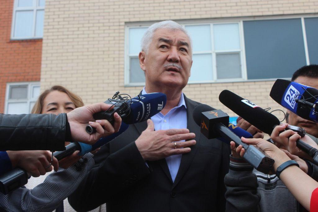 Амиржан Косанов впервые выступил публично после президентских выборов