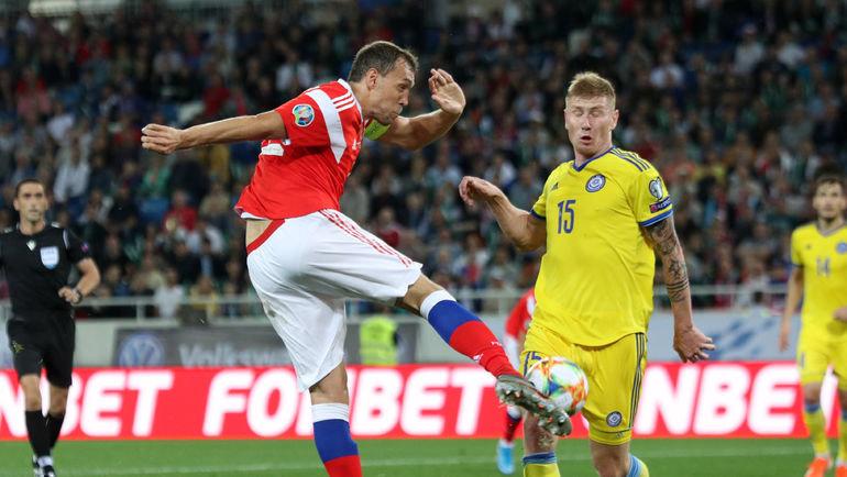 И все равно круто! Сборная Казахстана из-за гола на 90-й минуте проиграла России