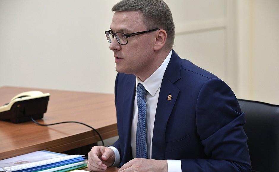 Челябинский губернатор Алексей Текслер встретится с Архимедом Мухамбетовым