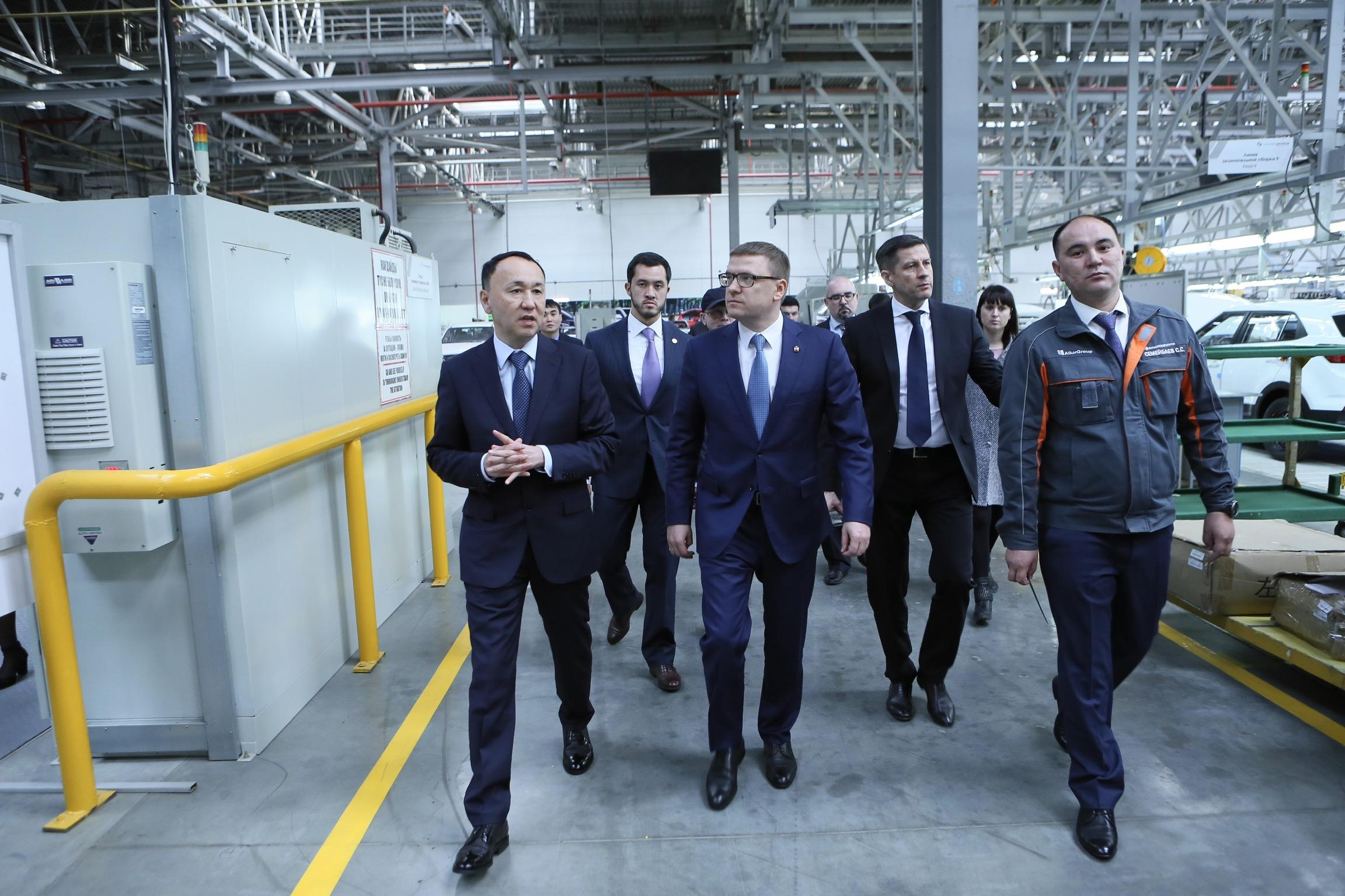 Главы Челябинской и Костанайской областей подписали ряд соглашений