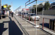 На улице Победы по многочисленным жалобам горожан начали разбирать торговые павильоны