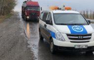 В Костанае в рамках мониторинга большегрузов выявлен ряд нарушений