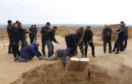 Древнее захоронение с золотыми изделиями найдено в Актюбинской области Казахстана