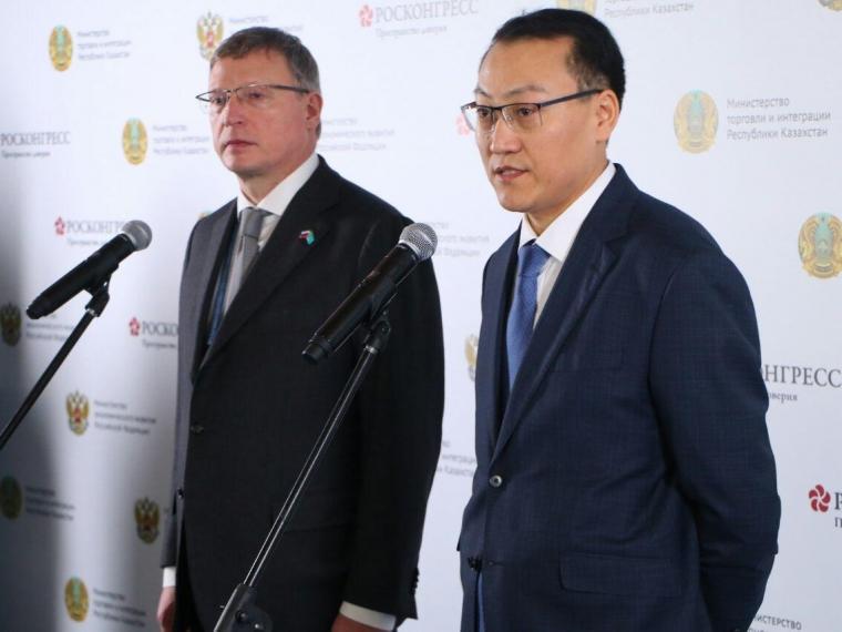 Правительство Казахстана обозначило сферы для сотрудничества с Омской областью