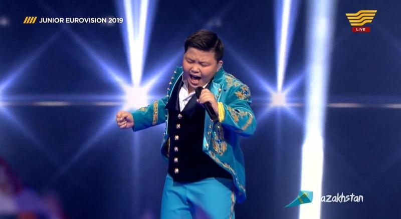 Второе место на «Детском Евровидении» занял Ержан Максим из Казахстана