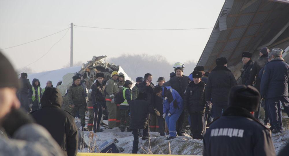 Токаев объявил 28 декабря днём общенационального траура по погибшим при крушении самолёта Bek Air