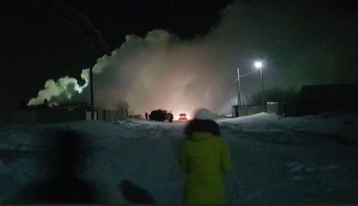 Количество жертв от взрыва бытового газового баллона в селе Тургай увеличилось до пяти человек