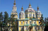 В Алматы издана книга с изображением православных храмов страны