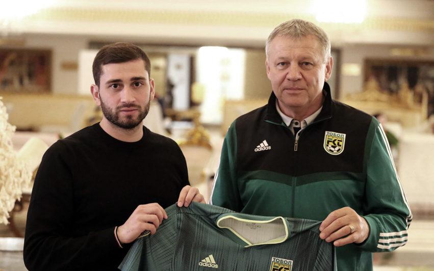 Костанайский «Тобол» арендовал грузинского футболиста из бельгийского клуба