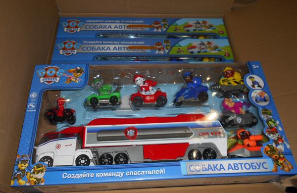 Самарские таможенники изъяли партию контрафактных игрушек, которые везли в РФ из Казахстана
