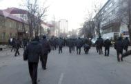 Митинг в Бишкеке перерос в столкновения с милицией