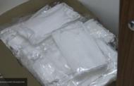Курганские пограничники пресекли контрабанду 19 тонн антисептиков и масок в Казахстан