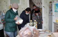 Продукты питания жительнице Костаная доставили волонтеры «Жанашыр бол»