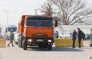 Налетчики в Акмолинской области напали на транспортный пост и угнали КамАЗ