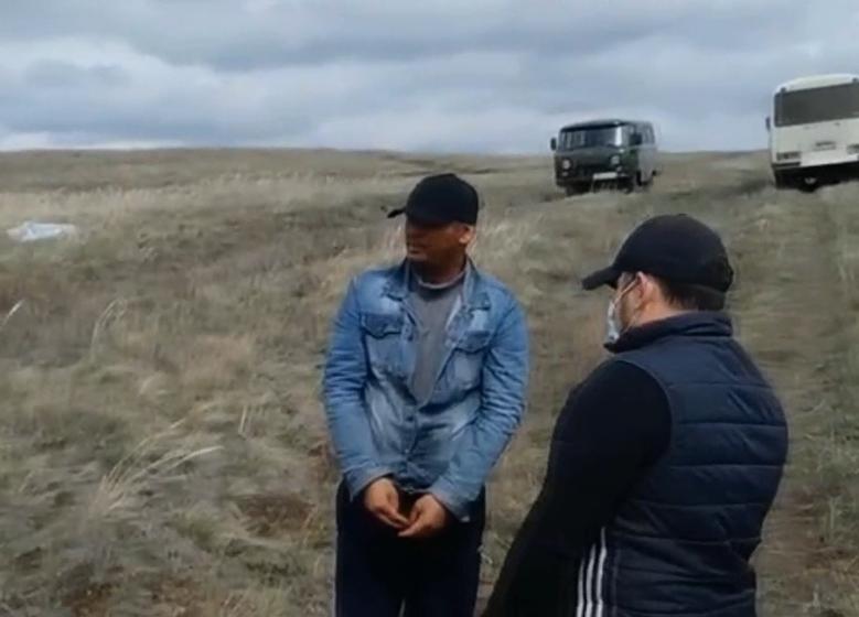 Четверо иностранцев пытались незаконно пересечь границу