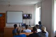 «Встреча у ворот» в режиме онлайн впервые прошла в колонии-поселении Костаная