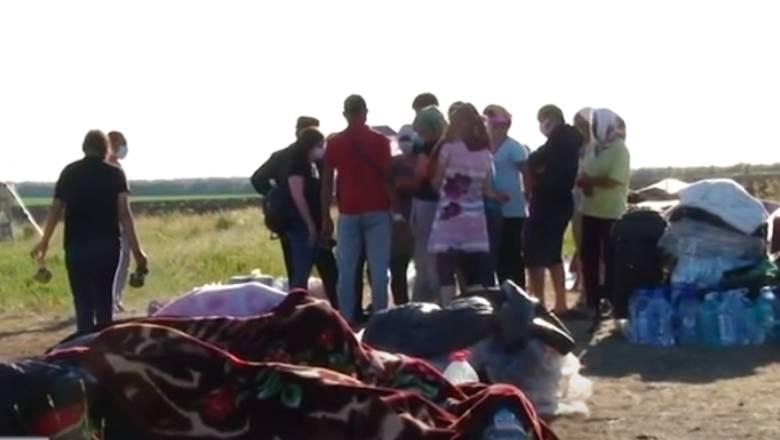 На оренбургской границе с Казахстаном застряли несколько сотен граждан Киргизии