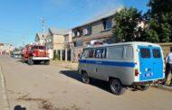 В Лисаковске пожарные спасли инвалида из горящего дома