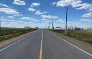 Челябинские дорожники капитально отремонтировали трассу на Казахстан