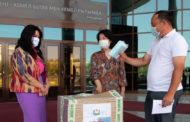 Российские общественники отправили студентам Нур-Султана 5 тысяч защитных масок