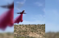 Видео с распылением самолетами красного вещества объяснили в МВД