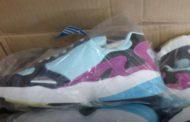На границе задержали 65 тонн контрафактной обуви из Казахстана