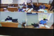 Все трое полицейских, оказавшиеся на скамье подсудимых в Алтынсаринском районном суде, вину в предъявленном обвинении не признают