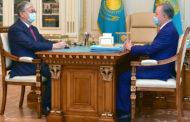 Токаев провел встречу с Нигматулиным