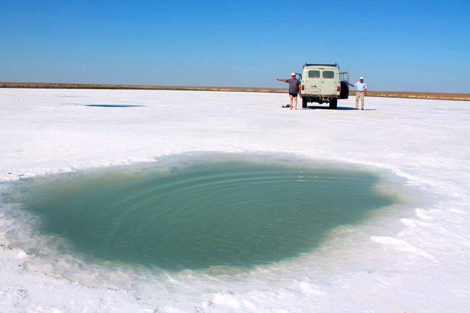 Белое озеро Акколь в Жангельдинском районе может постигнуть судьба озера Кобейтуз