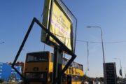 «Мы же не монстры, просто хотим справедливости» — владельцы сбитого автобусом рекламного щита прокомментировали ситуацию