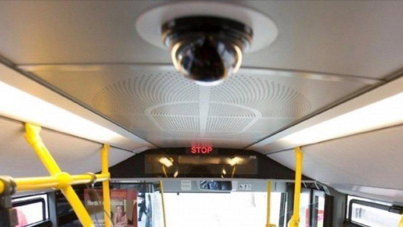 Камеры следят за ношением масок в автобусах Алматы