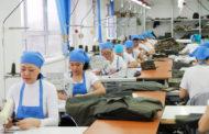 Доходы казахстанских швейных фабрик упали почти наполовину