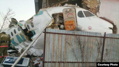 Разбившийся под Алматы самолет санавиации могли обстрелять с земли