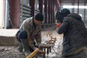 Новый цех строят на заводе «ENKI»