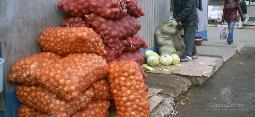 Цены на овощи и фрукты попозли вверх в Костанае