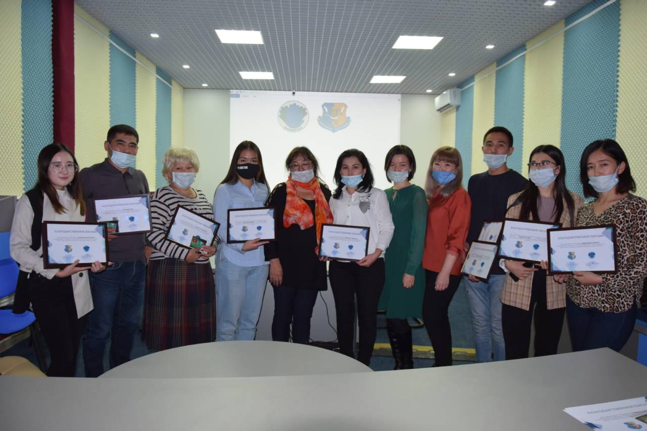Лучшим волонтерам «Жанашыр бол» объявили благодарность