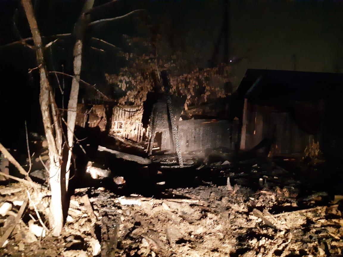Два обгоревших трупа обнаружили после пожара в районе Костанай-2